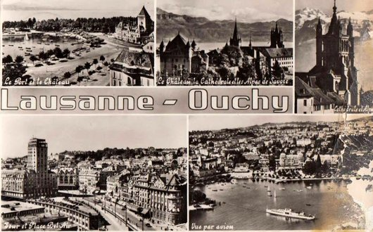 Lausanne souvenir.....