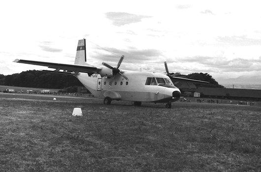 Lausanne, le CASA C-212