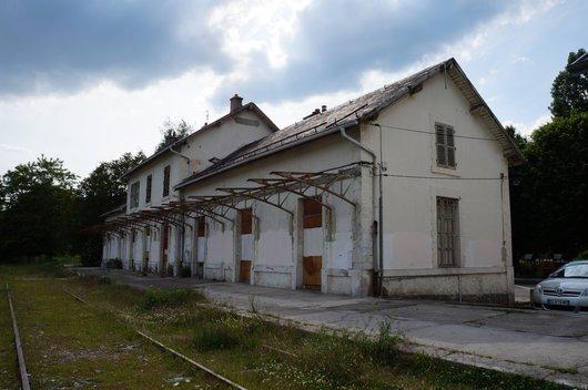 La gare de Divonne-les-Bains