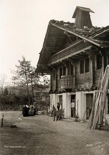 Le Village Suisse, une ferme