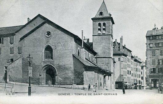 Genève, le Temple de Saint-Gervais
