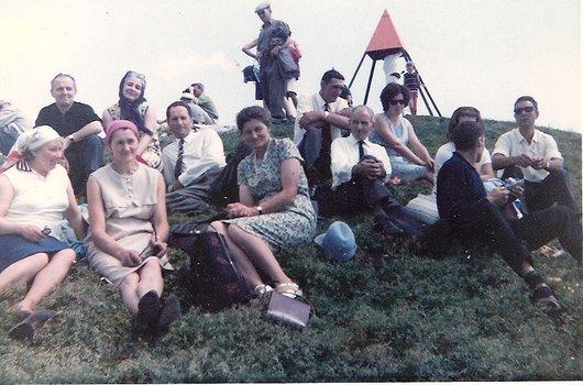 Course de la société de laiterie de Croy environ 1965