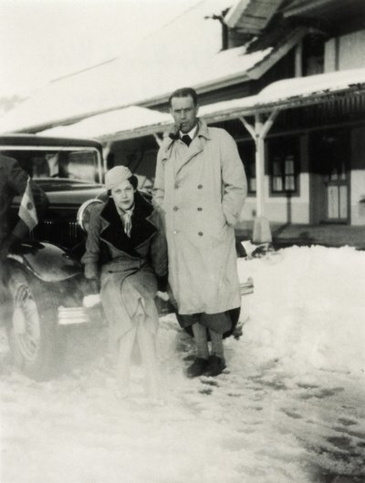 Christian de Weck et sa soeur Monique