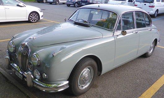Une Jaguar MK2, 3.4