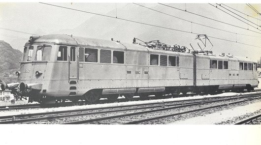 La locomotive Ae 8/14 11852