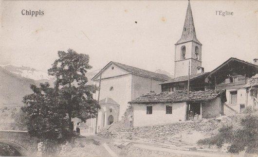 Chippis, ancienne église