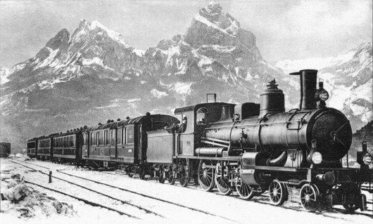 Le Gotthard-Express avec la A 3/5