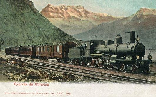 """Le faux """"Express du Simplon"""""""