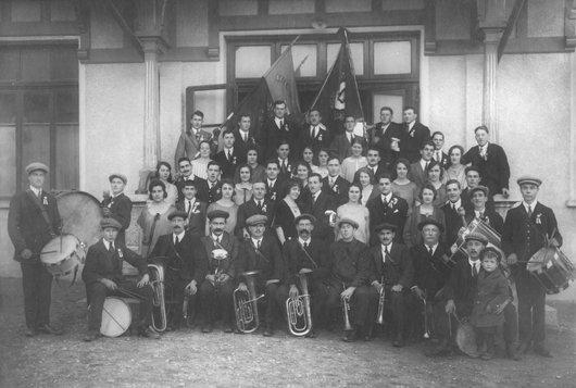 Mont jeunesse nouvel-an 1925