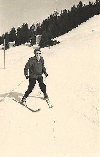 Skier à Saanenmöser