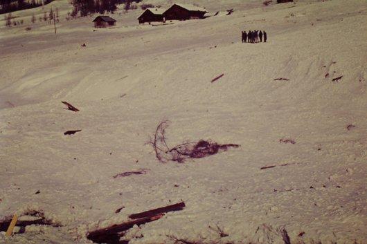 Avalanche à Zinal  <2>