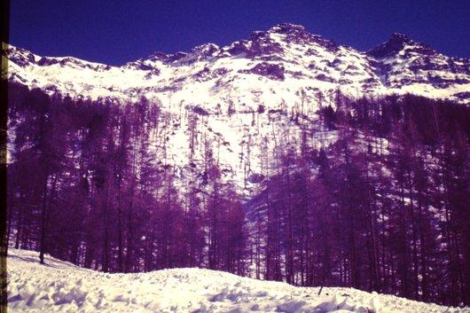 Avalanche à Zinal  <1>