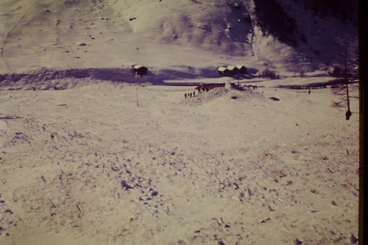 Avalanche à Zinal  <3>