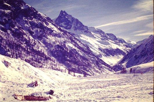 Avalanche à Zinal <4>