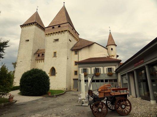 La Sarraz - Le château