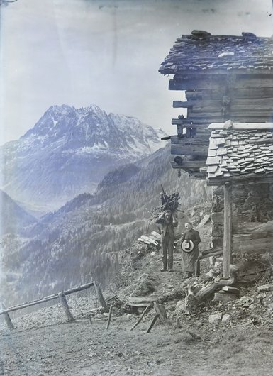 Aux environs de Finhaut, Valais