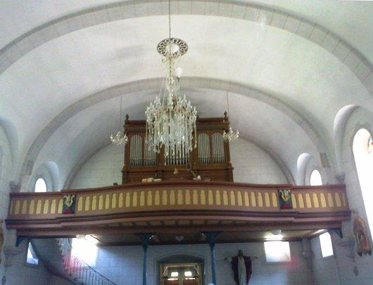 Orgues de l'Eglise de Montbovon (Fribourg)