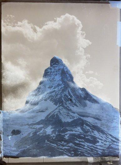 Matterhorn et la Hörnlihütte 3260 M.