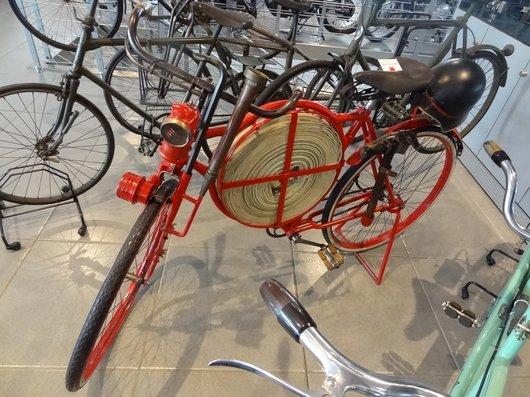 Bicyclette de pompier 1900/1910