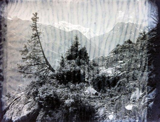En montant au col de Fenestrale Finhaut, canton du Valais
