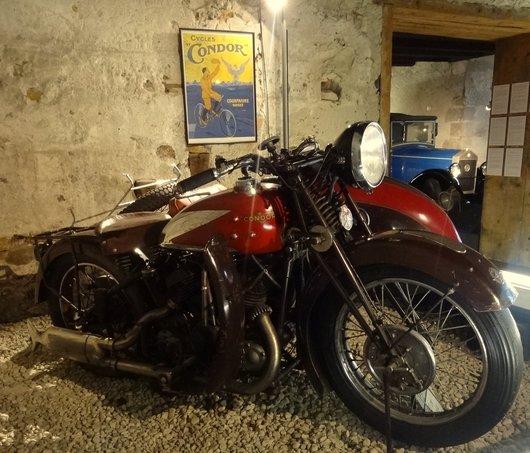 Moto Condor 850 cm3 année 1934