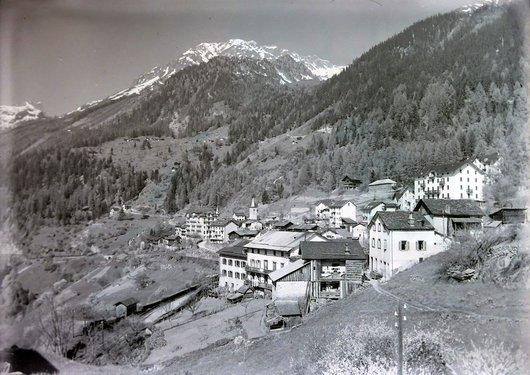 Le village de Finhaut, Valais