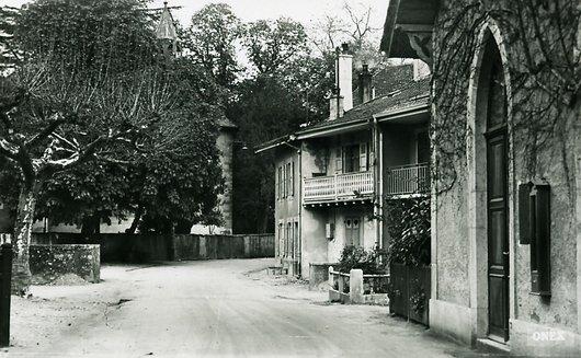 Onex, rue du vieux village