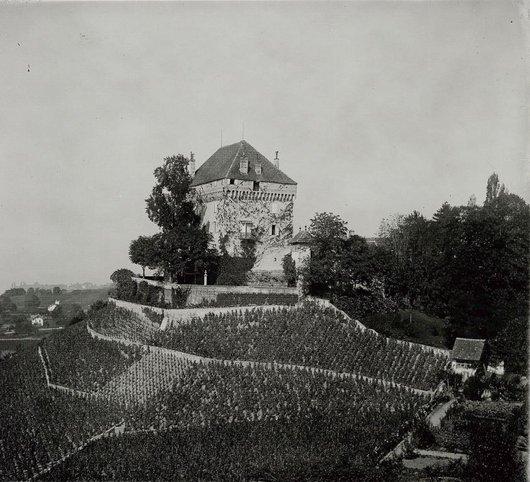 Le château du Châtelard 1904