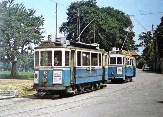 Fribourg 100 ans de tramways