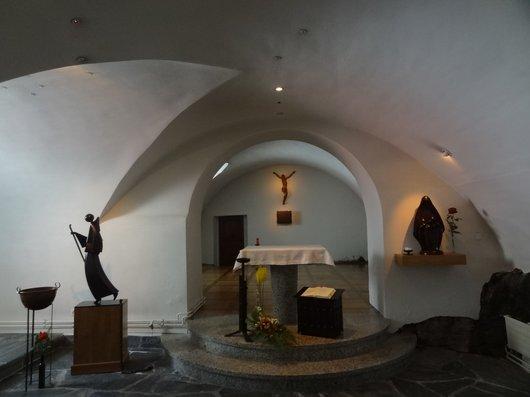 La crypte de l'hospice du Grand-Saint-Bernard