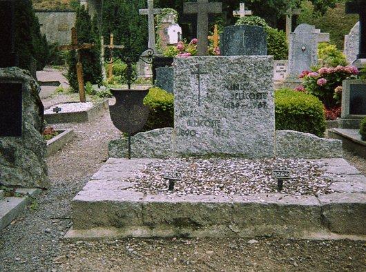 Tombe de Maurice Delacoste et de sa femme Anne, née de Stockalper