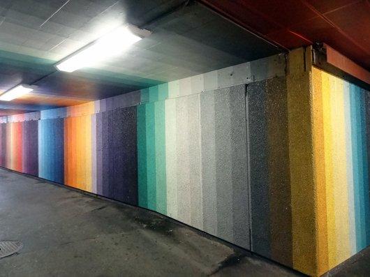 Lausanne - La Fresque Colorée