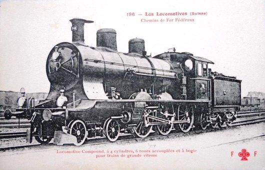 Locomotive à vapeur  A 3/5