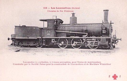 Locomotive à vapeur D 3/3