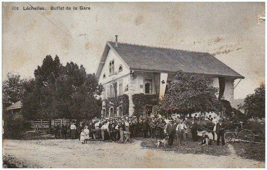 Buffet de la Gare de Léchelles