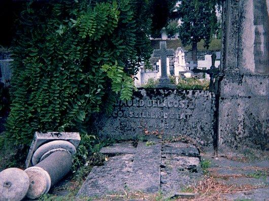 Tombe du conseiller d'Etat Edmond Delacoste (1854-1927)