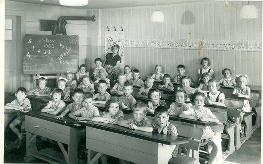 Classe Mme Cauderay1953 Mont sur Rolle