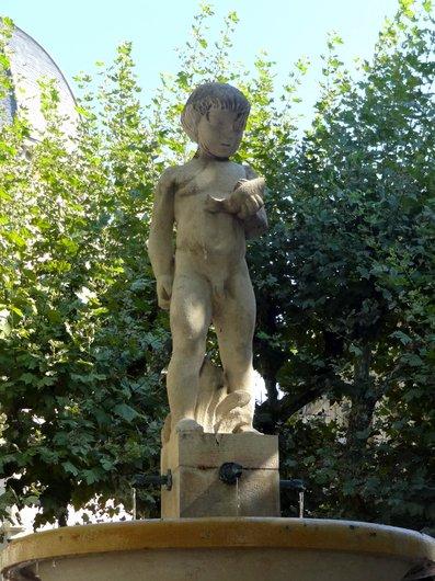 Genève - «L'enfant au poisson»