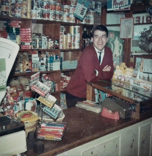 L'ancien magasin, 1960