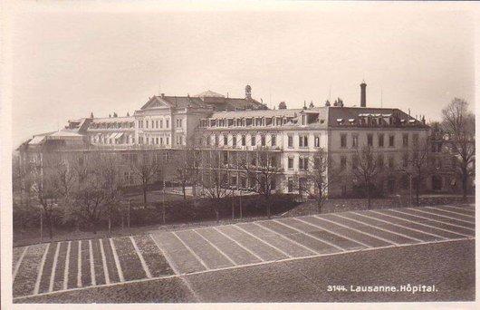 L'ancien Hôpital Cantonal à Lausanne