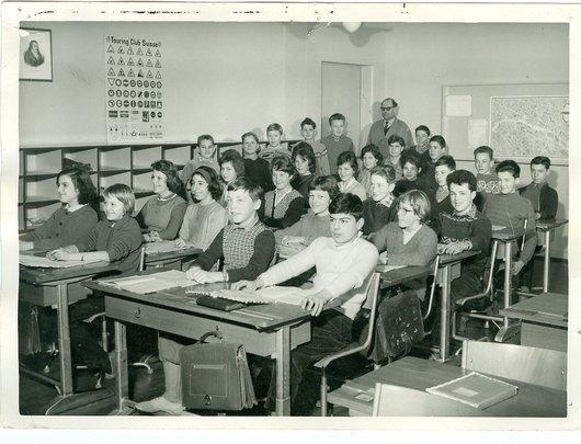 Classe M Mandry collège Verdaux Renens