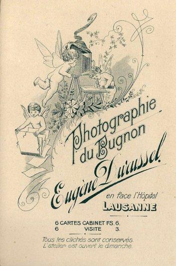 Photographie du Bugnon Eugène Durussel