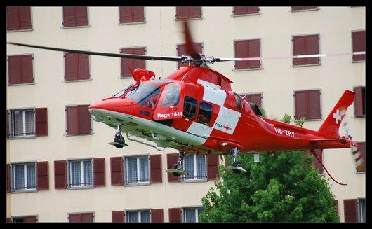 Hélicoptère REGA HB-ZRY