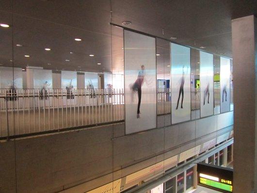 Lausanne Station m2 Riponne