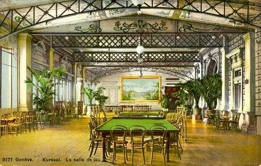 La salle de jeu du Grand-Casino