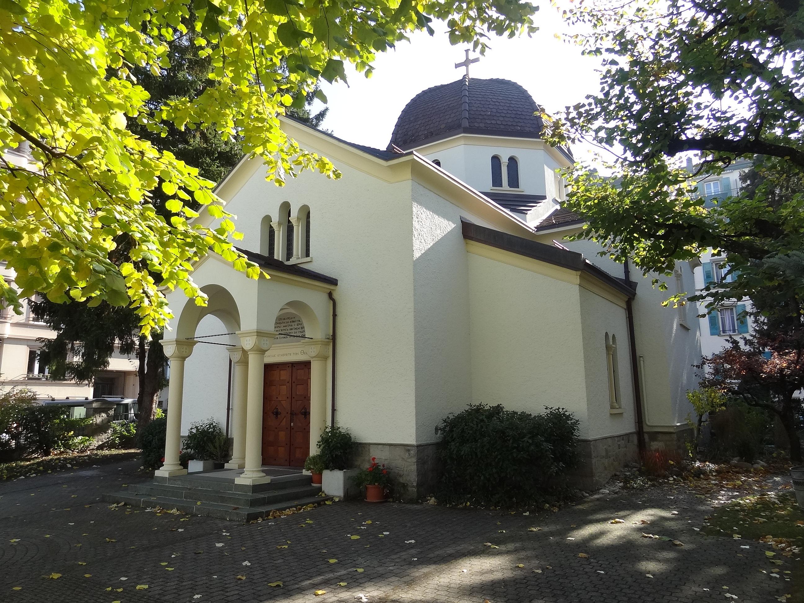 Lausanne - Eglise orthodoxe grecque