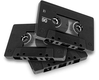 Les Cassettes Audio