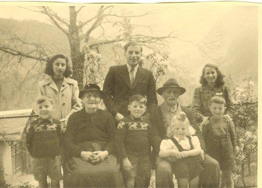 Joseph Rouiller et petits enfants