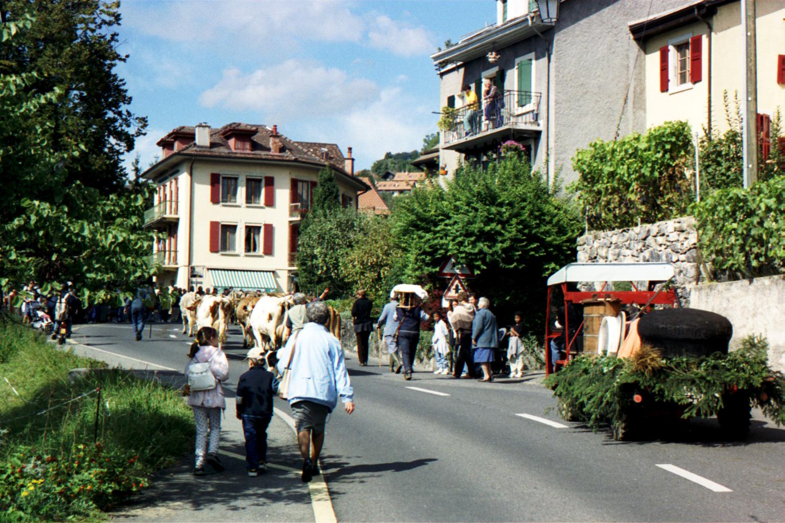 Brent-sur-Montreux Désalpes en 2001