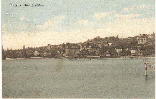 Pully, Chamblandes, entre 1913 et 1917